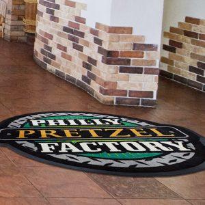 Classic Impressions Custom Shape Rubber Flooring Mats