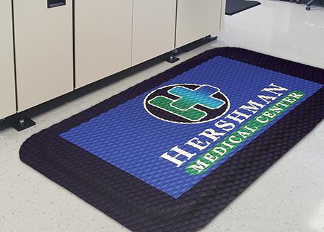HogHeaven Impressions Rubber Flooring Mats