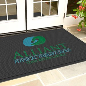 SuperScrape Impressions Rubber Flooring Mats